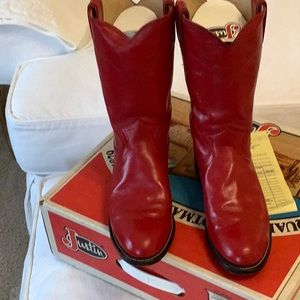 Red Roper Western Boots